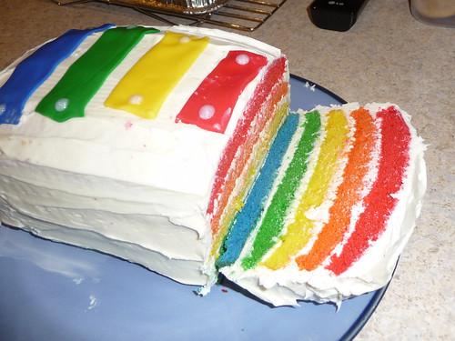 Rainbow Cake Test