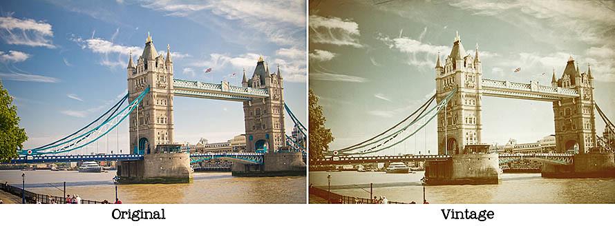 Tower Bridge Compare