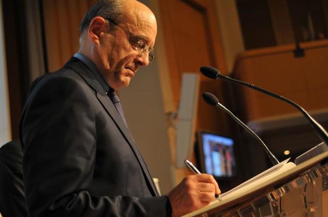 Audition d'Alain Juppé, Ministre des Affaires Etrangères et représentant UMP de Nicolas Sarkozy