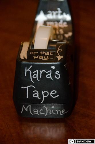 Tape Machine!