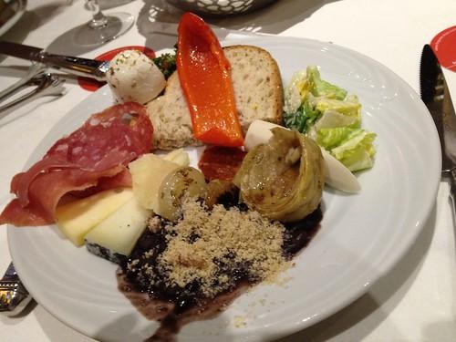 Salad and cold cuts - Fogo de Chao