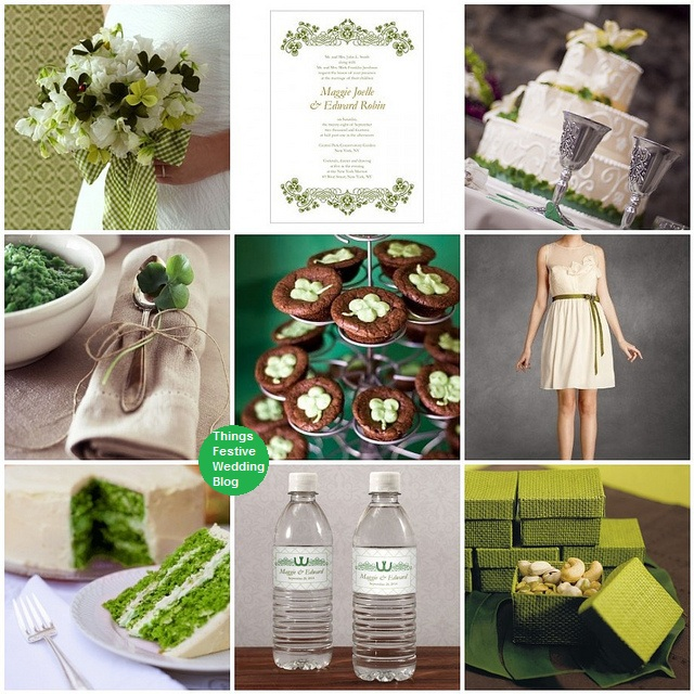 Irish Wedding Theme St Patricks Day Wedding Things Festive