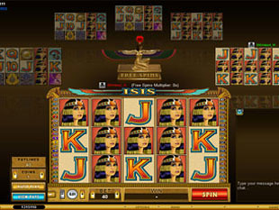 Multi-Player Isis slot game online review