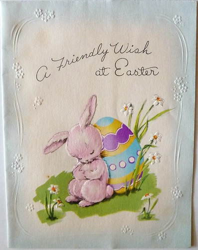 Vintage Easter Greeting Card by MissConduct*
