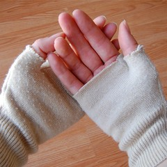fingerless gloves how-to