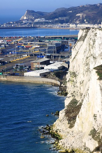 Dover Eastern Docks and Shakespeare Cliff
