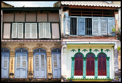 Old Phuket Town Shutters