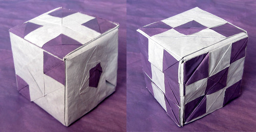 The Origami Forum View Topic Does Anyone Try Folding The Dice