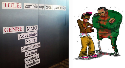 Magnetic action, Zombie Rap Bros Tycoon SD