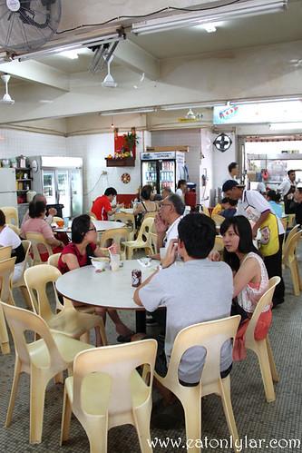 Interior, Kedai Makanan O & S Restaurant