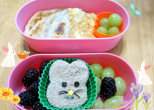 Easter Rabbit themed bento
