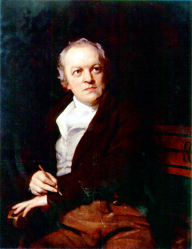 Portrait of William Blake by Thomas Phillips, 1807