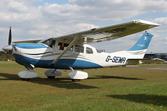 G-SEMR - 2006 build Cessna T206H Turbo Stationair TC, visiting Barton