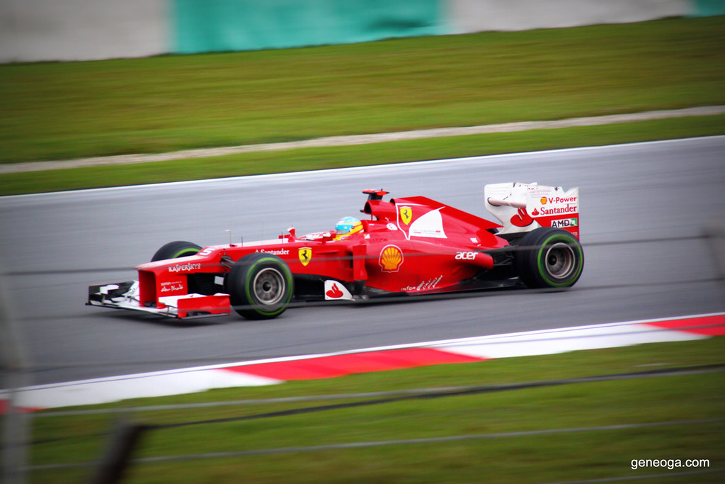 Fernando Alonso for Ferrari