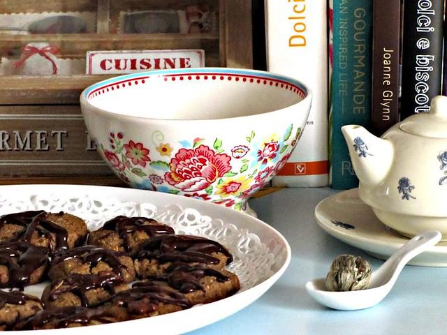 Choco-Cookies Saraceni coi Fiocchi