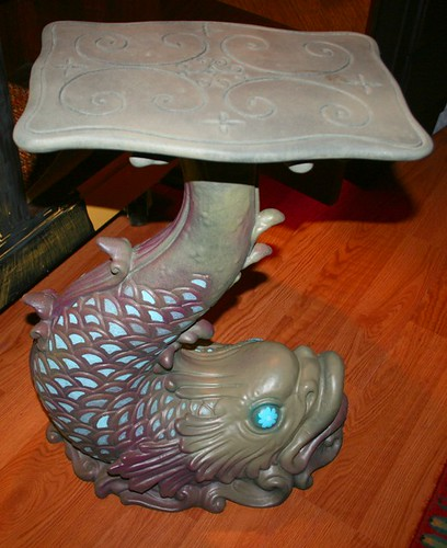Fish Table by Rick Cheadle Art and Designs
