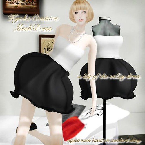 KC*M No.01[a lily of the valley dress]Black