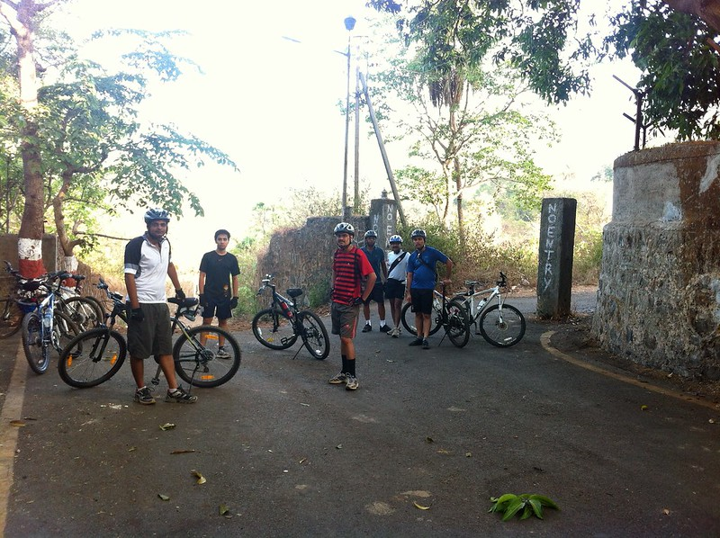 Yeoor Hills Off Road - Starting Point