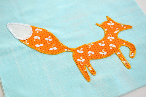 Little Fox applique