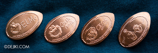 Universal Studios Singapore Press A Penny collection - Sesame Street