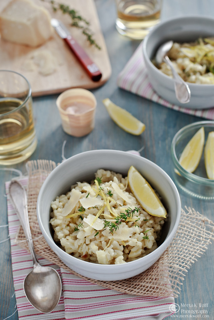 Lemon Thyme Fennel Risotto-0145 by Meeta K. Wolff