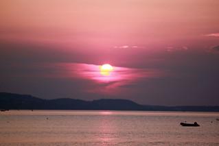 Sunset Kallithea Greece