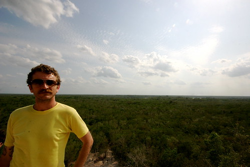 Nick atop Coba