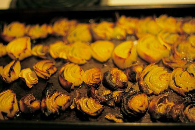 Roasting Onions