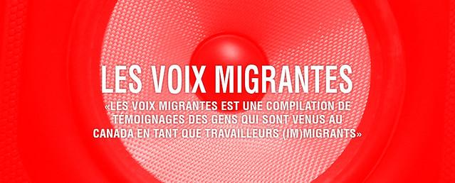 les voix migrantes