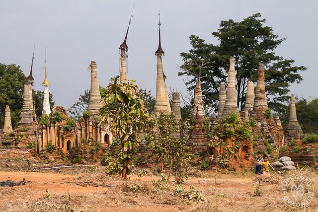 Ancient Ruins of Indein