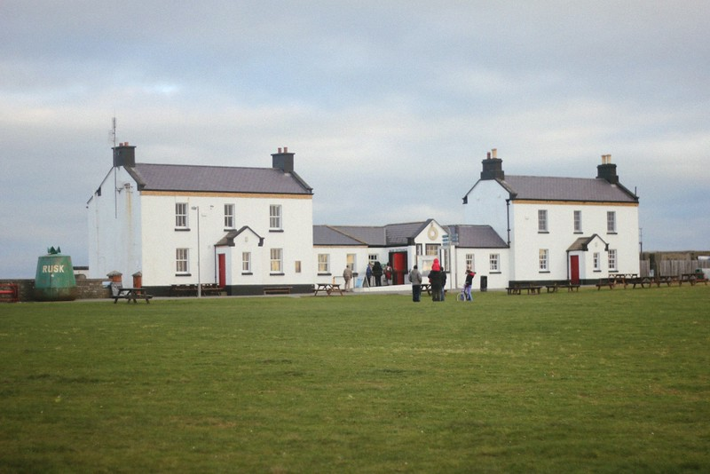 hook lighthouse buildings
