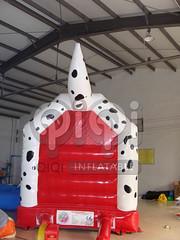 Dalmatian Moon Bounce