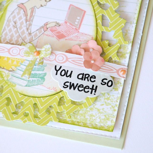 You are so sweet {sizzix}