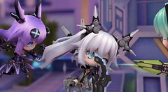 PS Vita「超女神信仰 ノワール 激神ブラックハート」 バトルムービー