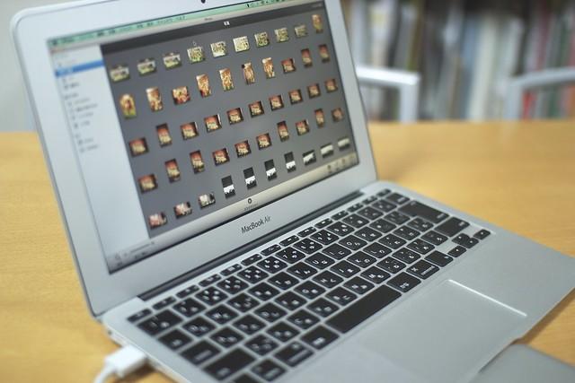 iPhotoからFlickrにオリジナルサイズで共有する方法