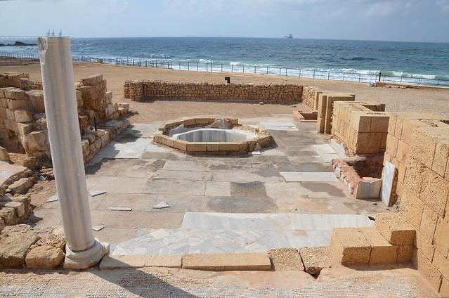 The Governor's Palace Baths, Caesarea Maritima, Israel