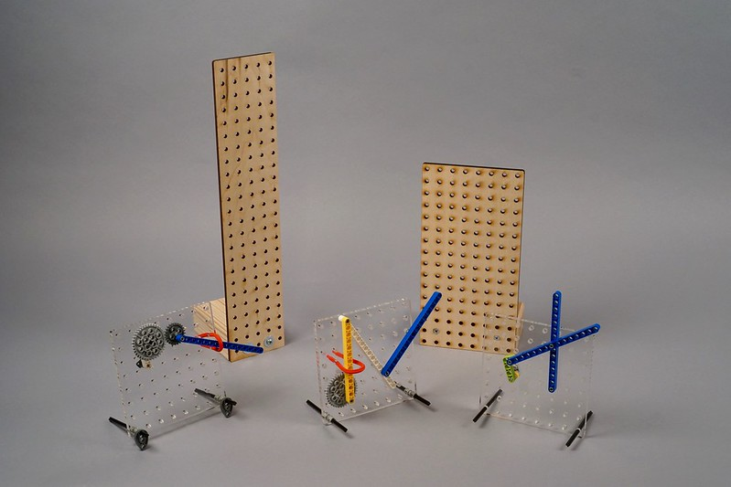 LEGO pegboard