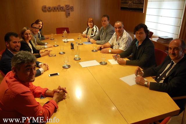 Comité Ejecutivo de CONFAES se reúne con el PSOE