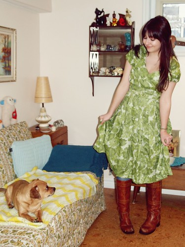 Astrid & the Dress + Gracie the pup