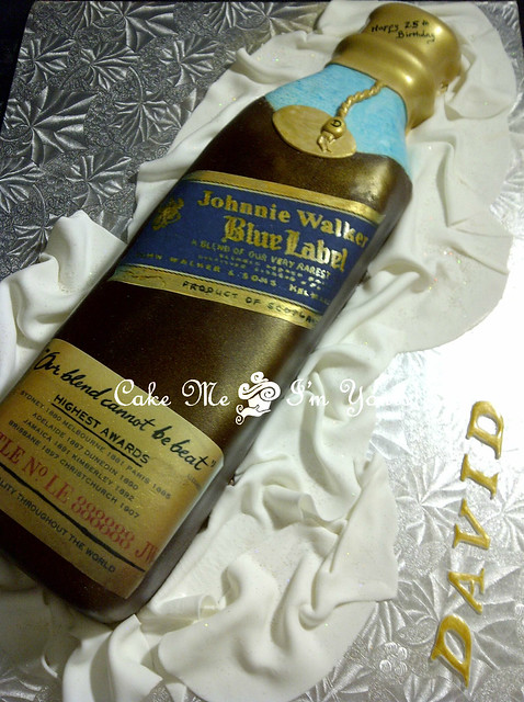 Johnnie Walker Blue Label Cake http://www.flickr.com/photos/cakemeimyours/6796440964/