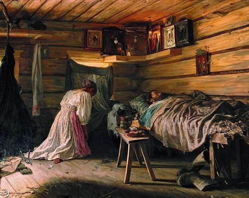 Василий Максимов, «Больной муж»