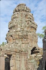 Tour d'angle (Preah Khan, Angkor)