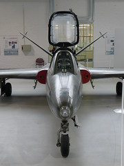 Front: Fouga CM.170R Magister