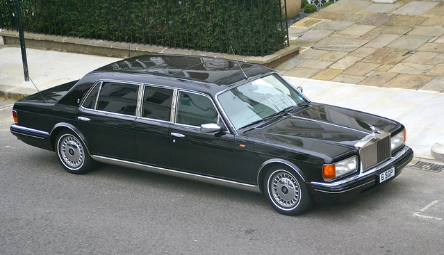Rolls-Royce Silver Spur III Touring Limousine Park Ward