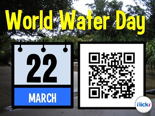 World Water Day is March 22  #qrcode #worldwaterday @UNW_WWD