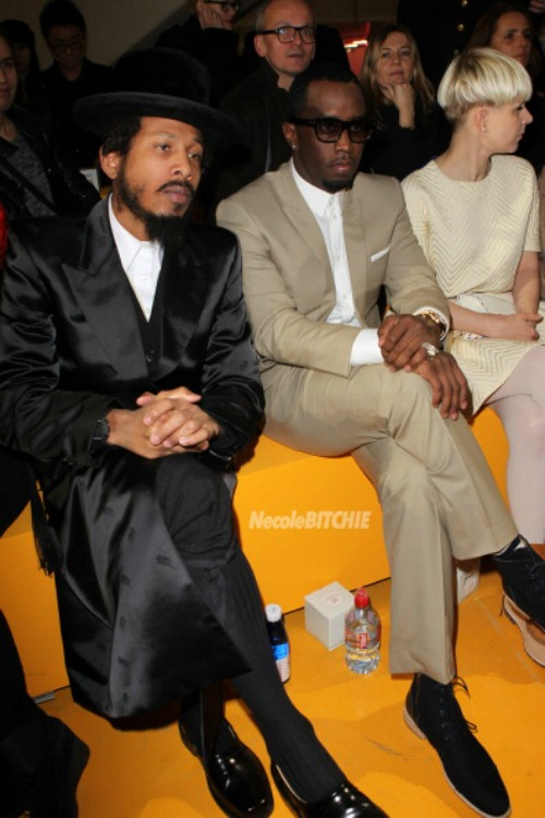Shyne-and-Diddy-Kenzo-Front-Row-Paris-Show