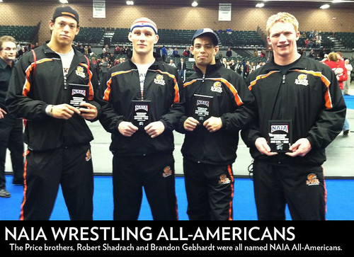 Wrestling All-Americans