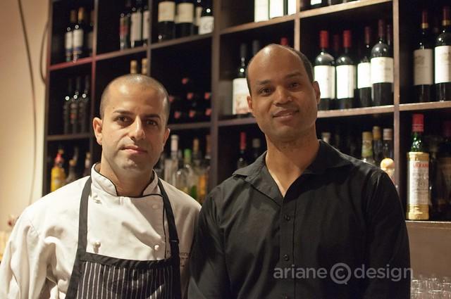 Chef Shallaw Kadir, Reggie Malebranche