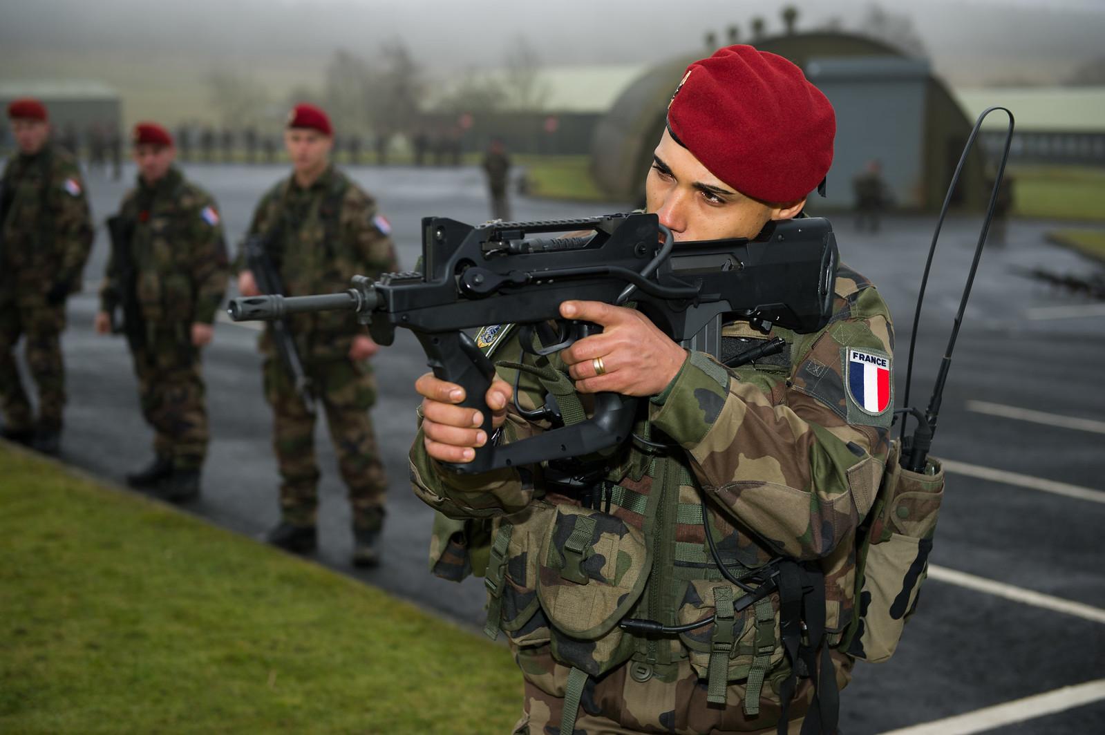 infanteria francesa: