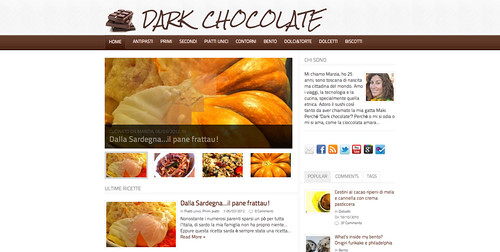 Made by girls: Dark chocolate